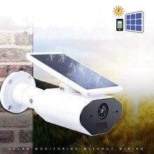 Wifi камера питания провод батареи- ip-камера на солнечной батарейке CCTV низкое энергопотребление камера наблюдения Водонепроницаемый Открытый PIR TFcard
