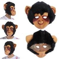 Halloween Orangutan Latex Mask Ape Monkey Headgear Halloween Party Funny Props Scary Mask Party Interesting Product