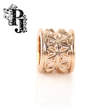 Newest Endless Jewelry Charms Million Pyramid Rose Gold Charm For Bracelet Endless SJSB1317