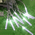 2m LED light sticks Waterproof led string battery crystal balls Bubble Bar outdoor Bulb Strip lamp Christmas Wedding decoration