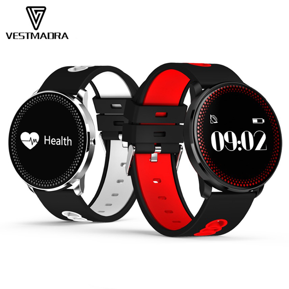 VESTMADEA CF007 Smart Band Heart Rate Smart Bracelet Blood Pressure Oxygen Monitor Fitness Tracker Pedometer Smart