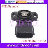 Nuevo Sensor de posición del acelerador TPS usar OE N. ° 35102 33100 para Hyundai Sonata|oes| |  -