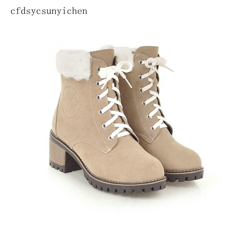 2018 hiver offre spéciale mi-mollet troupeau femmes bottes de neige dames robe chaussures hauts talons carrés BM-ASL-8721 Plus grande taille 10