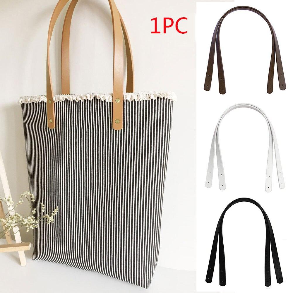 1 Pcs Detachable PU Leather Bag Belt Handle Lady Shoulder Bag DIY Replacement Accessories Handbag Band Handle