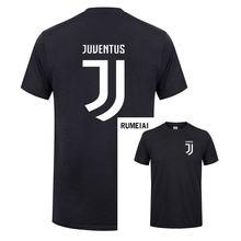 350c6d9eab 2018 nueva Juventus imprimir mujeres hombres camiseta bianconeri camiseta  fans Club camiseta italiana Gianluigi Buffon