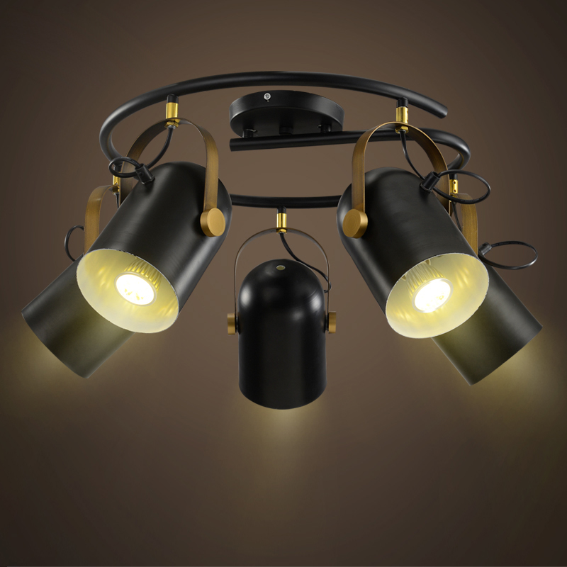 Best Led Shop Ceiling Lights: Retro American Top Led Ceiling Lights Industrial