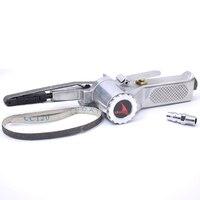 10MM*330 Pneumatic Belt Sander Air Grinding Machine Polisher Tool