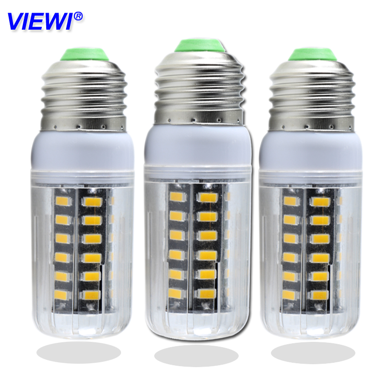 Viewi 1x bombillas led bulb light Ac Dc 12v 24v 36 volt super 5730 E27 7W energy saving lamp 360 degree corn bulbs home lighting smuxi e27 3 5w led bulb 27 5730 smd energy saving corn light lamp with frosted cover pure warm white home lighting 24v
