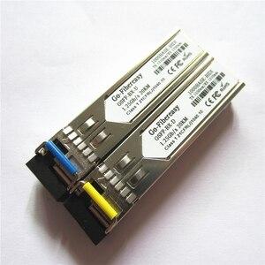 Image 5 - SFP מודול BiDi 1.25G יחיד מצב סימפלקס TX1310nm/RX1550nm WDM SFP משדר מודול פונקצית DDM עם SFP מתג מודול