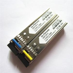 Image 5 - SFP Module BiDi 1.25G Single mode Simplex TX1310nm/RX1550nm WDM SFP Transceiver module DDM Function with SFP Switch Module