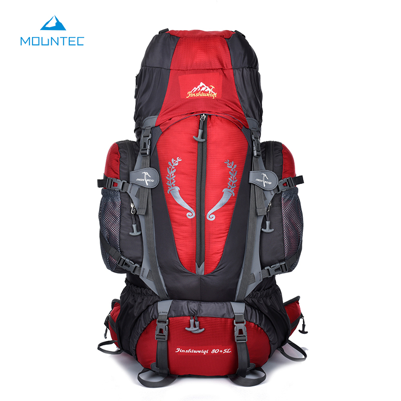 MOUNTEC Large Outdoor Backpack Travel Multi-Purpose Climbing Backpacks Hiking Big Capacity Rucksacks Sports Bag 80L 36*20*80cm mountec large outdoor backpack travel multi purpose climbing backpacks hiking big capacity rucksacks sports bag 80l 36 20 80cm