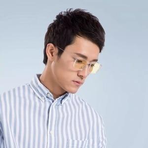 Image 4 - החדש Xiaomi Mijia אנטי כחול אור Goggle Pro Xiaomi משקפיים 50% כחול חסימת שיעור מינימאלי עיצוב דו צדדי שמן התנגדות