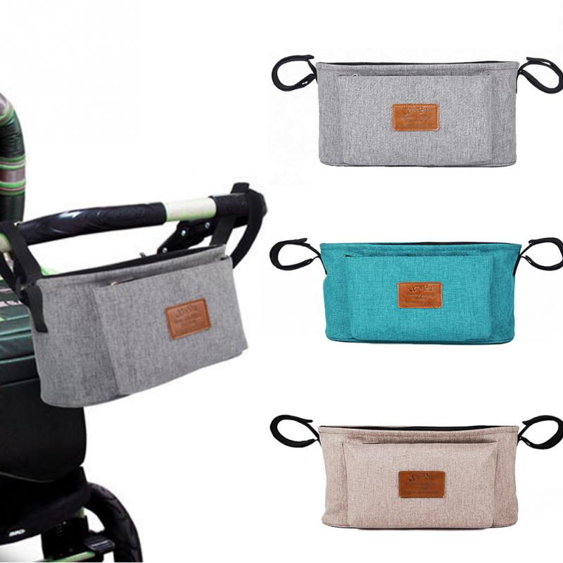 все цены на 2018New Baby Diaper Bags Nappy Bags Mummy Diaper Bags Hanging Carriage Pram Buggy Cart Bottle Diaper Holder Pushchair Travel Bag