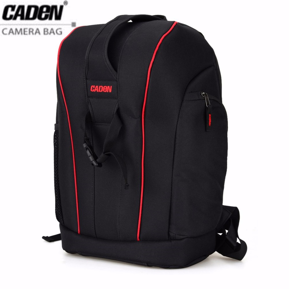 CADeN DSLR Camera Backpacks Video Photo Digital Camera Bag Case Waterproof Large Capacity Travel Backpack for Canon Nikon Sony ozuko brand dslr camera bag fashion chest pack slr camera video photo digital single shoulder bag waterproof school travel bags