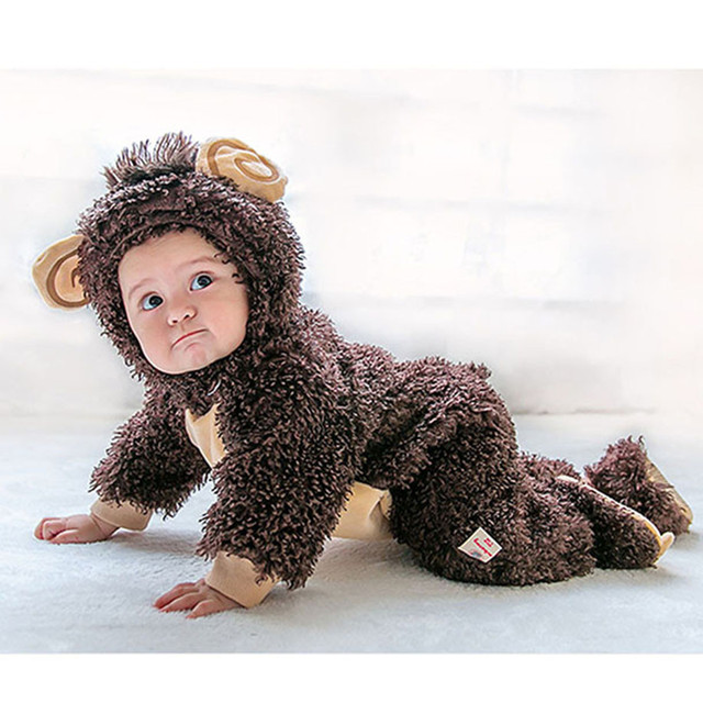 MUQGEW Halloween baby clotheschristmas baby clothes Animal Costume Hooded  fotografia Romper Onesie Outfit 0987f0f53b8e