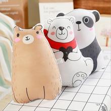Cartoon Bear Panda Soft Plush Pillow Toys Stuffed Animal Doll Toy Home Cushion Children Soothe