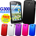 Hybrid Hard Case Cover For Huawei G300 Ascend U8815 U8818 Matte Skin+ 10 Colors Available +free Screen Protector