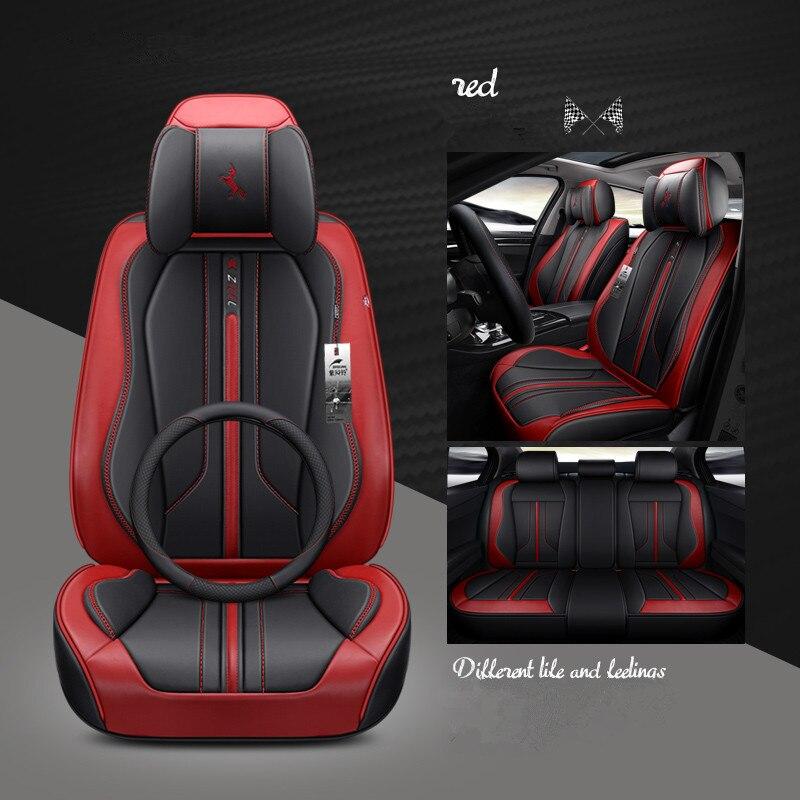 Sport autositzbezüge car styling für BMW Audi Volkswagen Toyota passat peugeot skoda Ford Honda KIA alle limousine