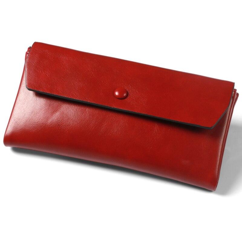 Pearl Angeli Röd Plånbok Kvinnlig Wristlet Kreditkort Telefon - Plånböcker - Foto 3
