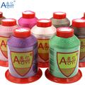 Швейная нить aoyi 210D/9 для ремонта кожаных ниток 5 #, швейная пряжа из филового полиэстера, машинная наклейка, аксессуары для вязания