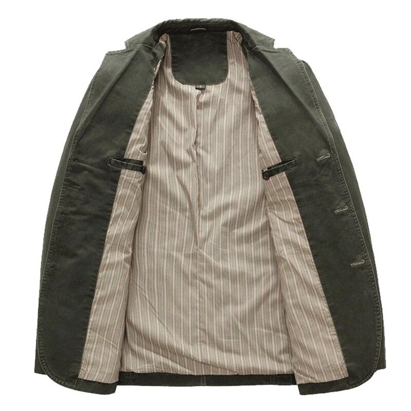 Casual Manteau Masculino s Green Militaire Automne Veste Mode Vestes 2xl khaki Mâle Costume Hommes Black Blazers Blazer Noir Kaki army Hiver srxhdQCBt
