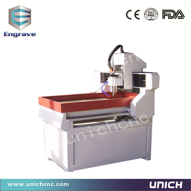 High speed unich 6090 stone carving cnc router