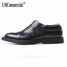 fashion casual men's Genuine leather shoes all-match cowhide loafer shoes men Driving shoes male soft  breathable fashion цена 2017