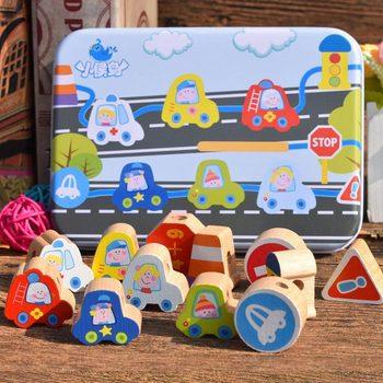 Ξύλινα Παιχνίδια Cartoon Φρούτα Ζώα DIY Εκπαιδευτικά Παιχνίδια Montessori Για Τα Παιδιά Παιχνίδια Χόμπι MSOW