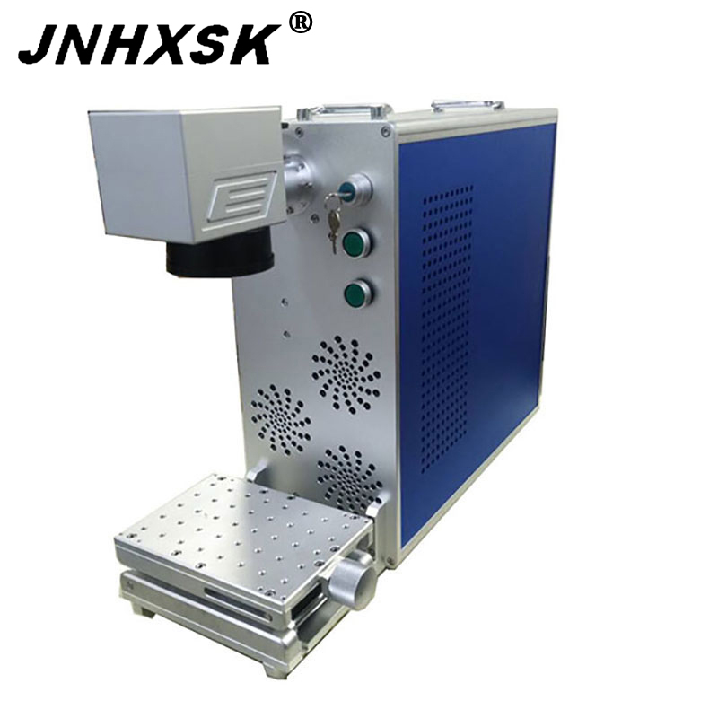 20W 150mm*150mm Mini Fiber Laser Marking Machine For Ring Logo Marking Bts Ring