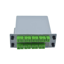 5PCS SC APC PLC 1X16 splitter Fiber Optical Box FTTH PLC Splitter box with SC1X16 Planar waveguide type Optical splitter(China)