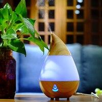 Bluetooth Air Humidifier Essential Oil Diffuseur Huile Essentiel 7 Colors LED Sleep Light Humidificador Ultrasonico AJ
