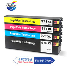 Compatible Ink Cartridge With Ink For HP 970 971 970xl 971xl For Officejet Pro X451dn X451dw X551dw X476dn X476dw X576dw 970 971