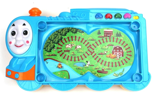Фантазии многофункциональный Томас поезд рыбацкий рай, Можно добавить воды электрический дяоюйтай игрушечный поезд