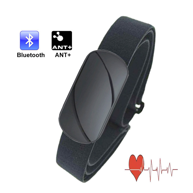 Waterproof Heart Rate Meter ANT+ Bluetooth Heart Rate Monitor Sport Fitness Favor Outdoor Cycling Wireless Chest Strap