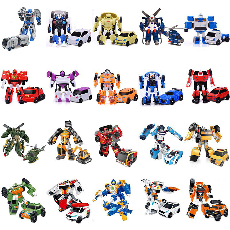 27 Style Tobot Robot MINI Transformation Toys Tobot 1 2 Generation Deformation Car Action Figure Model Toys Best Christmas Gifts