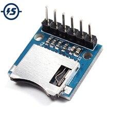 Для Arduino SD карты Модуль Щит Micro SD хранения доска мини Miniture микромодуль памяти с контактами AVR ARM