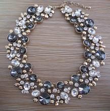 PPG&PGG 2018 New Fashion Jewelry Women Luxury Bijoux Z Brand Crystal Statement Choker Bib Collar Rhinestone Necklaces