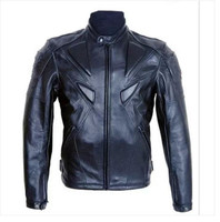 Fashion leisure PU leather motorcycle jacket Motorbike Protective Jackets moto jacket Men's motorcycle jackets