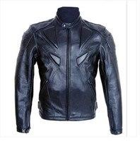 Fashion leisure PU leather motorcycle jacket Motorbike Protective Jackets moto jacket Men's motorcycle jackets