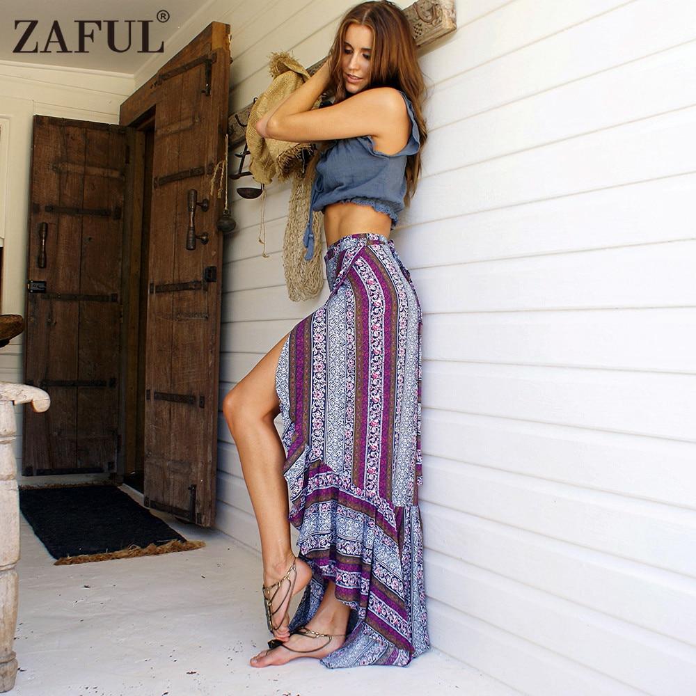 High Waist Skirt Zaful