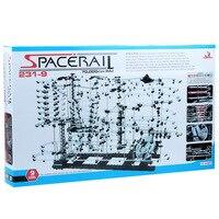 Уровень 9 (231 9) космический рельсовый набор, высококлассные американские горки, Intellgent Chanllenge, DIY игрушки, строительные блоки, Spacerail
