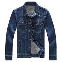 Plus Size 8XL Men S Denim Jackets New Men Fashion Cowboy Motorcycle Jacket Caots Clothing Male