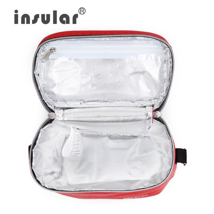 Brand Insular 420D Nylon Baby Foderflaska Isoleringsväskor Termiska - Äta och dricka - Foto 2