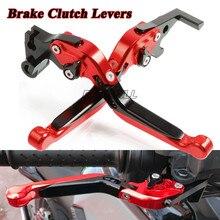 For Ducati Monster 696 796 400 695 S2R800 620 620MTS M900 M920 M600 M400 CNC Motorcycle Brake Clutch Levers Foldable Extendable микротоки gezatone m920 m920 m920 1301095m