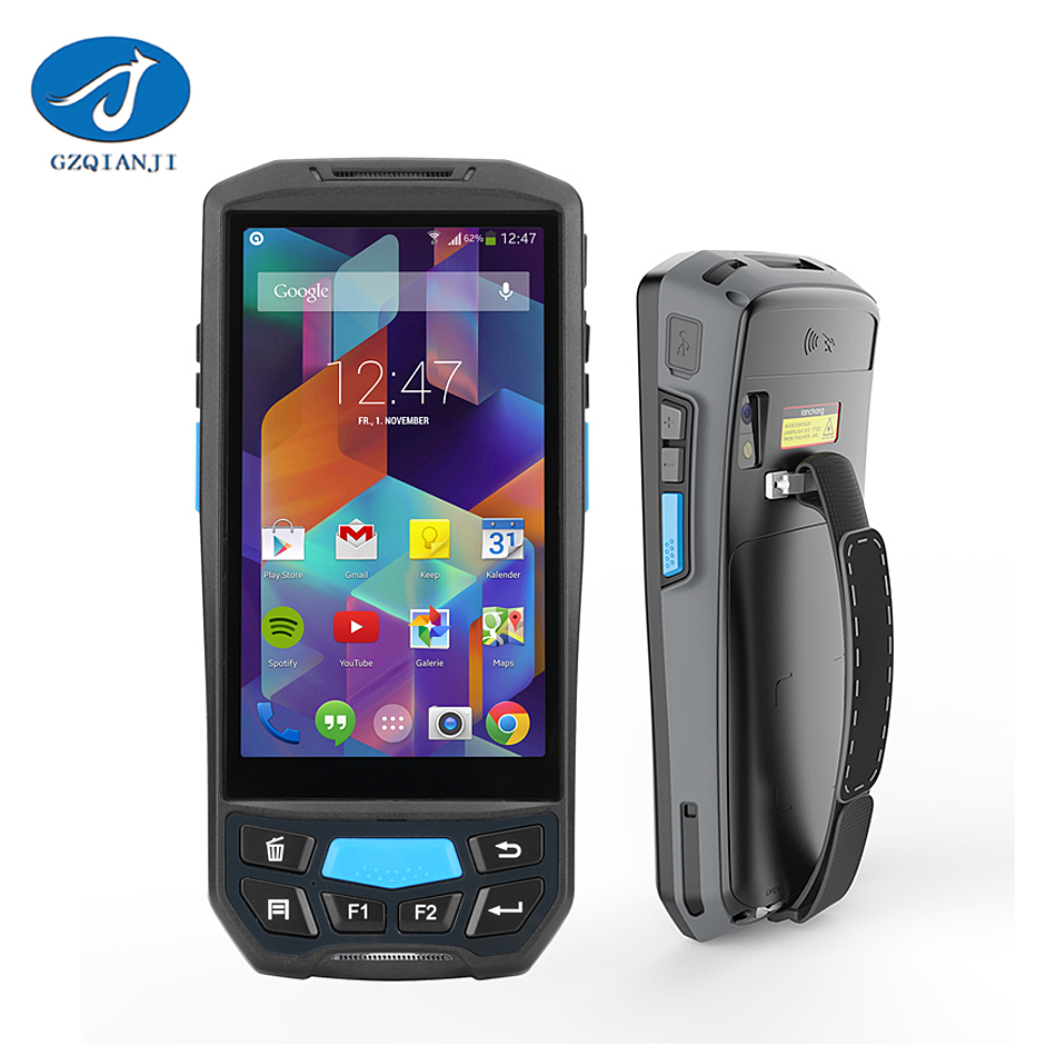 PDA Wireless Handheld Mobile Computer Terminal barcode Scanner Mobile Smartphone Phone PDA Android PDF417 2D Barcode Scanner