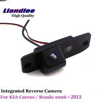 цена на Liandlee For KIA Carens / Rondo 2006~2013 Car Reverse Parking Camera Backup Rear View Camera / SONY Integrated Nigh Vision