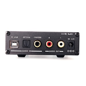 Image 3 - KGUSS DAC K3 MINI HiFi 2.0 Digital Audio Decoder DAC Input USB/Coaxial/Optical Output RCA/ Headphone Amplifier 24Bit/96KHz DC12V