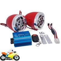 Vespa de la motocicleta de Alarma de Audio Altavoces Reproductor de Música MP3 TF Tarjeta USB FM Radio Amplificador Estéreo para Honda Yamaha Suzuki Kawasaki