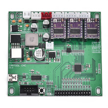 Upgraded 3 Axis GRBL USB Port CNC Control Board with Fan Box 150W Engraver Milling Laser Machine Controller board 3 axis grbl control board offline hand controller for cnc laser engraver machine