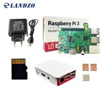 H Raspberry Pi 3 Model B Kit Pi 3 Board Pi 3 Case European Power Supply